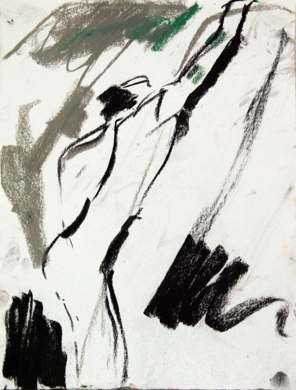 Drawing No. 6 Study on Cezanne charcoal on paper 21 x 30 cm 2012
